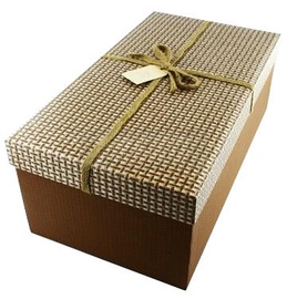 Avatar Gift Box Brown/Beige 33x18cm