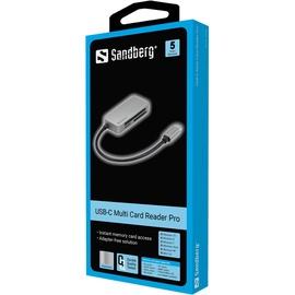 Mälukaardilugeja Sandberg Multi Card Reader Pro