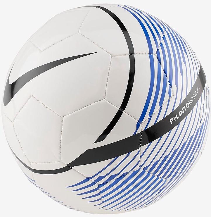 Nike Phantom Venom Ball White/Blue Size 4
