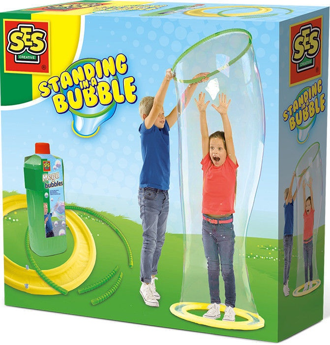 SES Creative Standing In Mega Bubble