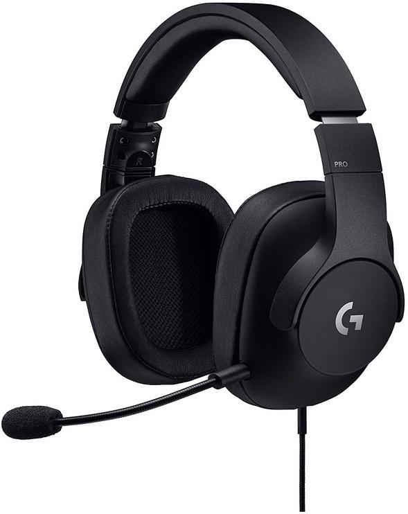 Ausinės Logitech Pro Gaming Headset Black 981-000721