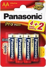 Panasonic LR6PPG Pro Power 4+2 x AA