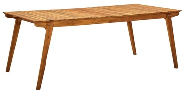 Садовый стол 310628, коричневый