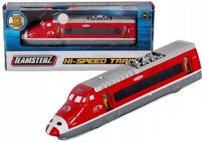 HTI Teamsterz Hi-Speed Train 12.5cm