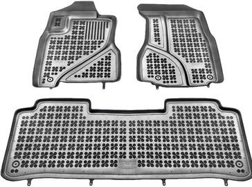 Резиновый автомобильный коврик REZAW-PLAST Honda CRV 2002-2007, 3 шт.