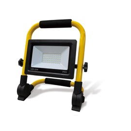 Прожектор Okko, 30 Вт, 2100 лм, 5000 °К, IP65, черный/желтый