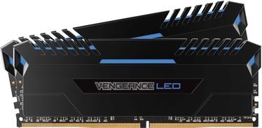 Corsair Vengeance LED 32GB 2400MHz CL16 DDR4 Blue DIMM KIT OF 2 CMK32GX4M2Z2400C16