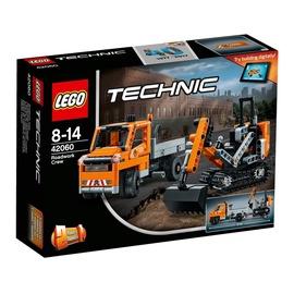 Konstruktors LEGO Technic Roadwork Crew 42060
