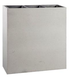 Home4you Flowerpot Sandstone 66.5x24.5x68cm Grey