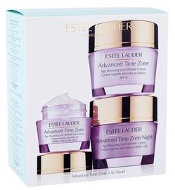 Estee Lauder Advanced Time Zone Age Reversing Cream 50ml + Night Cream 50ml + Eye Cream 15ml