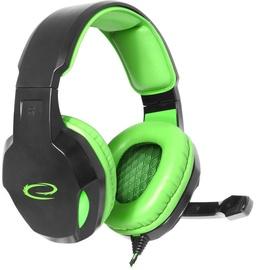 Žaidimų ausinės Esperanza EGH350 Green