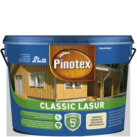 Impregnantas Pinotex Classic Lasur AE, palisandro spalva, 10 l