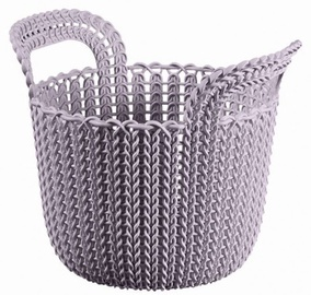 Curver Knit XS Round Basket Light Purple