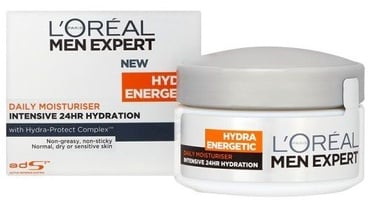 Sejas krēms L´Oreal Paris Men Expert Hydra Energetic Daily Moisturiser, 50 ml