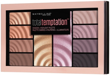 Maybelline Total Temptation Eyeshadow + Highlight Palette 12g