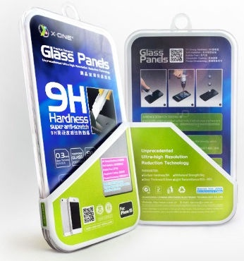 X-One Pro HD Quality Tempered Glass Screen Protector For Apple iPhone 6/6s
