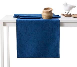 AmeliaHome Gaia AH/HMD Tablecloth Set Indigo 115x300cm/35x300cm 2pcs