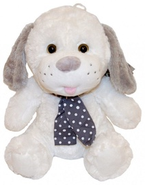 Axiom Plush Silver Collection Dog White 25cm