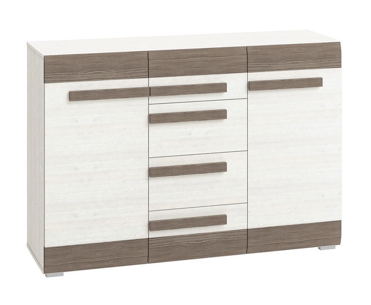MN Chest Of Drawers Bianco 07 White Brown