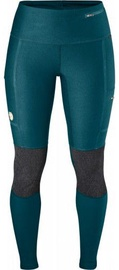 Fjall Raven Abisko Trekking Tights Woman Green L