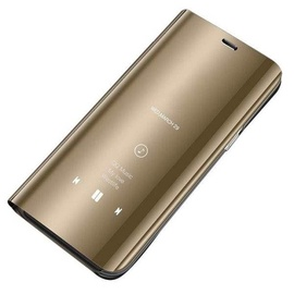 Hurtel Clear View Case For Samsung Galaxy S8 Gold