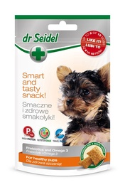 Maisto papildai jauniems šunims Dr Seidel, 90 gr