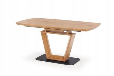 Pusdienu galds Halmar Blacky 2 Oak, 1600 - 2200x900x760 mm