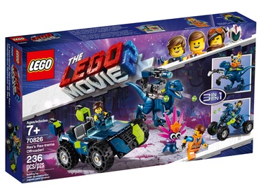 Konstruktorius Lego Movie 70826, nuo 7 m.