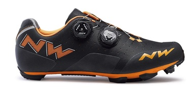 Northwave Rebel MTB XC Shoes Black/Orange 45.5