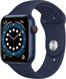 Apple Watch Series 6 GPS 44mm LTE Blue Aluminum Deep Navy Sport Band