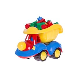 TOY CAR WITH BLOCKS 138