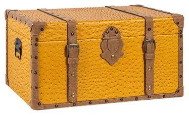Home4you Chest Oskar 62x35x30cm Yellow