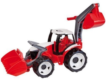 Lena Maxi Tractor With Front Loader & Shovel Red 2081