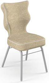 Детский стул Entelo Solo Size 4 VS26, коричневый/серый, 340 мм x 775 мм