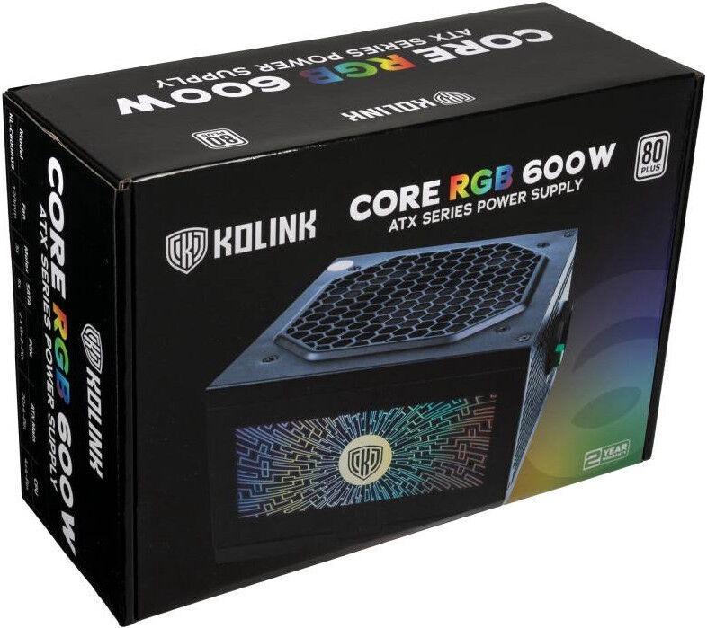 Kolink Core RGB 80 PLUS 600W