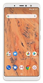 BQ Aquaris X2 3/32GB Dual White Sand Gold