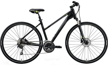 "Dviratis Merida Crossway 300 Lady 47cm 28"" Black Matt 18"