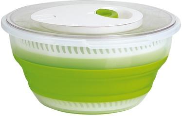 Emsa Basic Collapsible Salad Spinner Green 4.0l