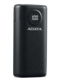 Uzlādēšanas ierīce – akumulators ADATA P10000QSD, 10000 mAh, melna