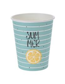 Vienkartiniai popieriniai puodeliai Summer 10vnt