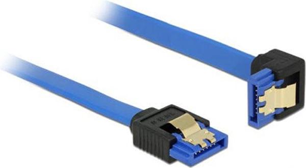 Delock Cable Blue SATA 6 Gb/s 0.3m 85090