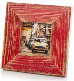Bad Disain Photo Frame 10x10cm 1520953 Red