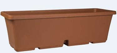 Plastic pot DOMOLETTI. TBTISB50-100, Ø 50 cm, brown