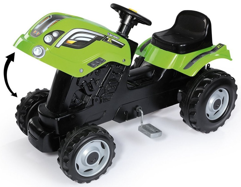 Smoby Tractor XL Green