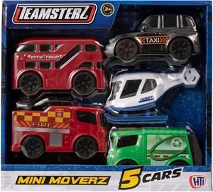 HTI Teamsterz Mini Moverz 5pcs
