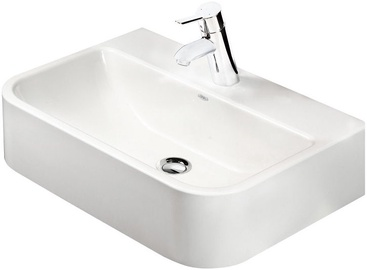 Paa Mini Samba 545x375mm Washbasin White