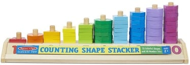 Melissa & Doug Counting Shape Stacker 19275