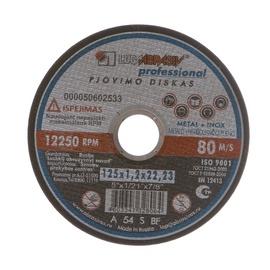 Pjovimo diskas, 125 x 1.2 x 22.23 mm