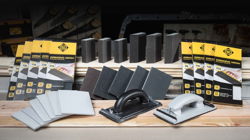 Lihvimisvõrk Forte Tools, NR40, 280x105 mm, 5 tk