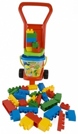 Wader Trolley With Blocks 35pcs 10777